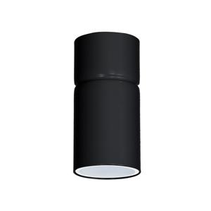 Luminex Bodové svietidlo IMPLODE 1xGU10/8W/230V čierna LU8379