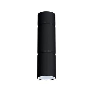 Luminex Bodové svietidlo IMPLODE 1xGU10/8W/230V čierna LU8380
