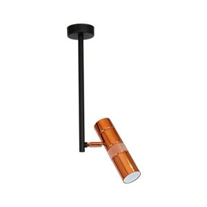 Luminex Bodové svietidlo SALVA 1xGU10/8W/230V medená LU8646