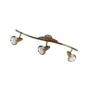 Luminex Bodové svietidlo ZEUS 3xE14/40W/230V LU0884