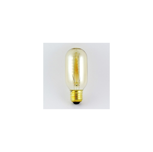 Baterie centrum Dekoračná stmievateľná žiarovka VINTAGE T45 E27/40W/230V