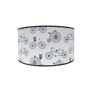 Lampdar Detské stropné svietidlo BIKE 2xE27/60W/230V biela/čierná SA0670