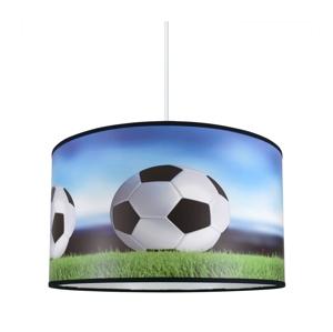 Lampdar Detský luster na lanku FOOTBALL 1xE27/60W/230V