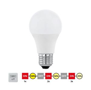 Eglo EGLO 11561 - LED Stmievateľná žiarovka E27/10W/230V - STEPDIMMING teplá biela EG11561