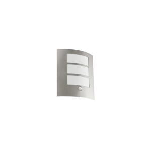 Eglo EGLO 88142 - Senzorové vonkajšie nástenné svietidlo CITY 1xE27/15W EG88142