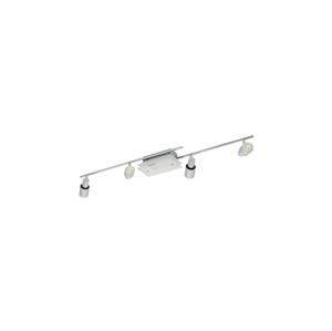 Eglo EGLO 90028 - bodové svietidlo NIXON 4xGU10/9W + 1xG9/9W chróm / biela