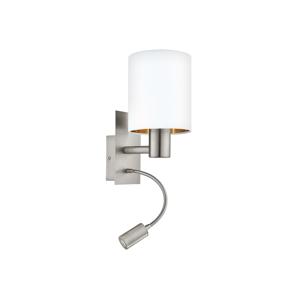 Eglo Eglo 95051 - LED nástenné svietidlo PASTERI 1xE27/60W + LED/2,4W EG95051