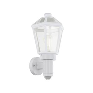 Eglo Eglo 97256 - Vonkajšie nástenné svietidlo so senzorom MONSELICE 1xE27/28W/230V EG97256