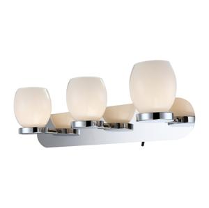 Globo GLOBO 44200-3 - Kúpeľňové Nástenné LED svietidlo DANO 3xLED/3W/230V GL3067