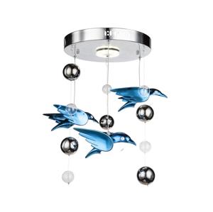 Globo Globo 56671-4D - LED Detský luster BIRDS 4xLED/6W/230V GL4634