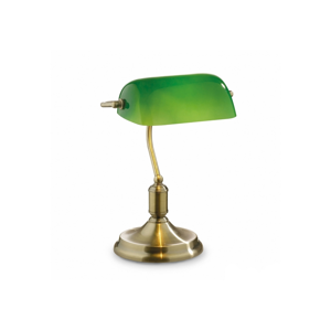Ideal Lux 45030 - Stolná lampa 1xE27/60W/230V