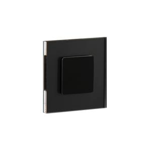 LDST LDST JU-01-CB-BZ8 - LED schodiskové svietidlo JULIA 8xLED/1,2W/230V lesklá čierna LD0068