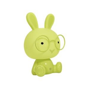 Polux LED Detská nočná lampička LED/2,5W/230V králík zelená SA0791