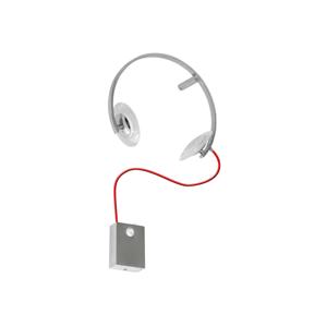 Milagro LED Nástenné detské svietidlo TUNO LED/10W/230V chróm MI0001
