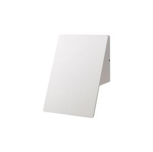 Milagro LED Nástenné vonkajšie svietidlo PLAIN LED/10W/230V IP44 biela