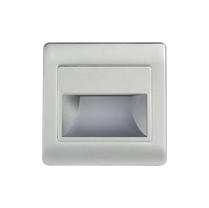 Emithor LED schodiskové svietidlo STEP LIGHT NET LED/1,5W/30V strieborná 70403