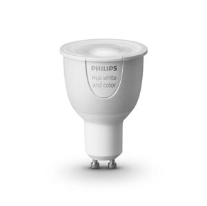 Philips LED Stmievateľná žiarovka HUE SINGLE BULB 1xGU10/6,5W
