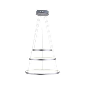 Leuchten Direkt LED Stmievateľný luster na lanku CIRCLE 1xLED/15W/230V + LED/20W + LED/25W