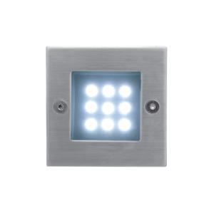 Panlux ID-B04/S - LED vonkajšie osvetlenie INDEX 9 LED 1x9LED/0,5W/230V