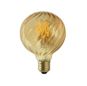 Polux LED žiarovka VINTAGE AMBER E27/4W/230V G95 SA0781