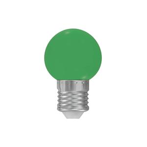 Wojnarowscy LED žiarovkaE27/1W/230V zelená WJ0061