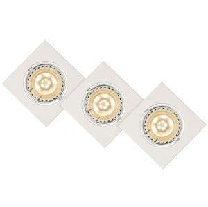 Lucide Lucide 11002/15/31 - SADA 3x LED podhľadové svietidlo FOCUS 3xGU10/5W/230V biele LC1085
