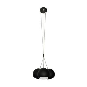 Helam Luster MARION 3xE27/60W/230V čierna HE0150