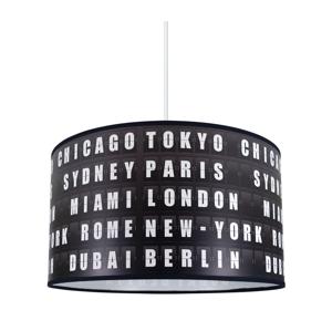 Lampdar Luster na lanku CITY 1xE27/60W/230V