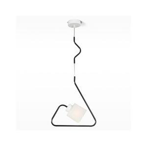 Light4home Luster na lanku SIGMA 1xE27/60W/230V čierna