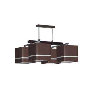 Luminex Luster na tyči BLACK 4xE27/60W/230V LU0172