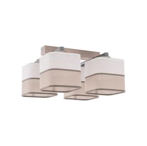 TK Lighting Luster prisadený TONI WHITE 4xE27/60W/230V TK0718