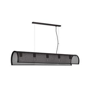Luminex Luster TUNNEL 5xE27/60W/230V čierna