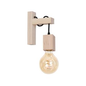 Milagro Nástenné svietidlo JACK 1xE27/40W/230V prírodné drevo MI0187