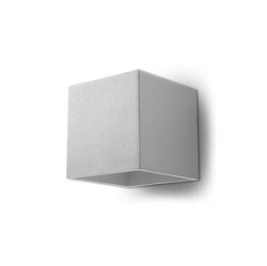 Sollux Nástenné svietidlo QUAD 1 1xG9/40W/230V šedá SLX0030