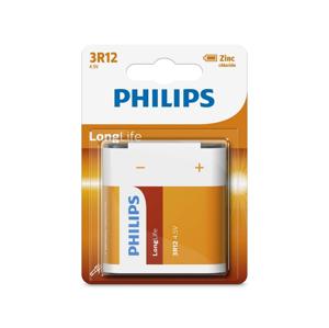 Philips Philips 3R12L1B/10 - Zinkochloridová batéria 3R12 LONGLIFE 4,5V P2212