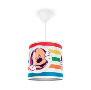 Philips Philips 71752/30/16 - Detský luster DISNEY MICKEY MOUSE 1xE27/23W/230V P1375