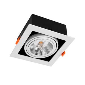 Milagro Podhľadové svietidlo PLAZA AR111 1xGU10/12W/230V