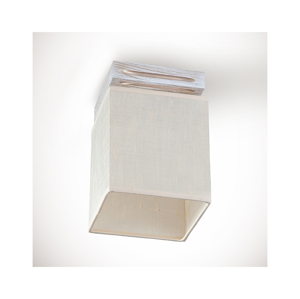 Light4home Prisadený luster BERGAMO 1xE14/40W/230V béžová