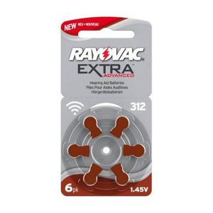 Rayovac - 6 ks Batéria do naslúchadiel 312 1,45V VA0095