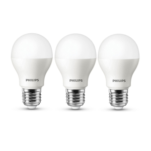 Philips Sada 3x LED Žiarovka Philips E27/7W/230V 3000K