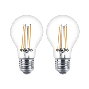 Philips SET 2x LED Žiarovka Philips E27/6W - 8718696587478 P1842