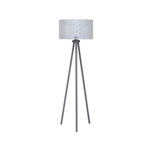 Duolla Stojacia lampa ECHO1 1xE27/40W/230V šedá/krajka DU8232