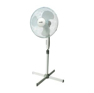 FK Technics Stojanový ventilátor 40 cm, 3 rýchlosti, biela 45W