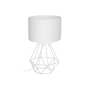 Decoland Stolná lampa BASKET 1xE27/60W/230V biela