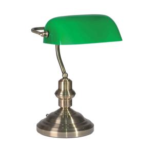 TOP LIGHT Stolná lampa OFFICE BANK Z 1xE27/60W TP0234