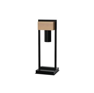 Milagro Stolná lampa WEST 1xGU10/25W/230V čierna