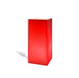 Lamkur Stolná lampička 1xE14/40W/230V červená