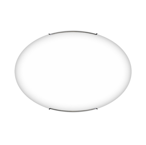 TOP LIGHT Top Light Oval/60/B - Stropné svietidlo OVAL 4xE27/60W/230V TP0972