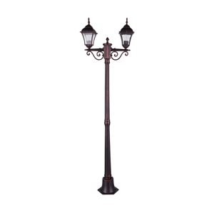 Polux Vonkajšia lampa PARIS 2 2xE27/20W/230V