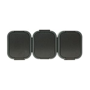 LDST Zásuvka do vlhkého prostredia B2 IP54 3x2P čierna